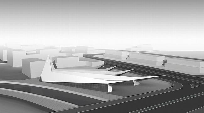 Биеннале-парк Абу-Даби. Концепт-проект павильона №1. Юрий Аввакумов & Андрей Савин