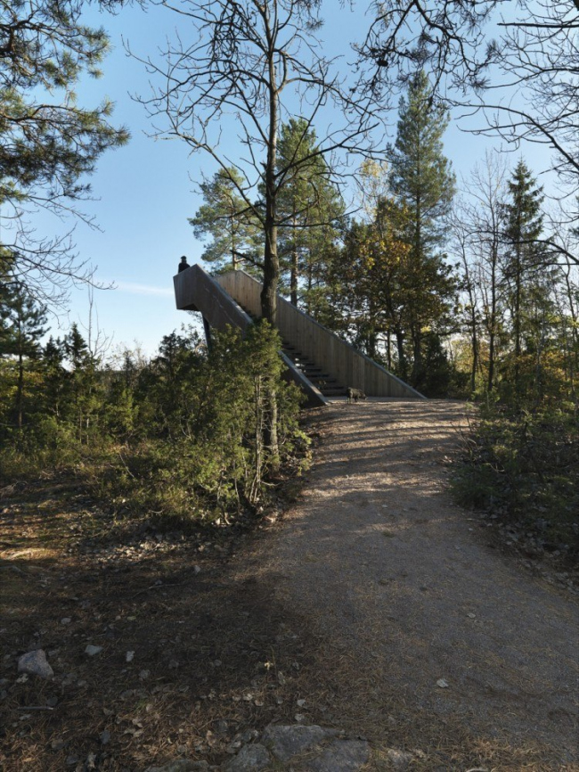 Смотровая платформа «Лесная лестница» в Стокке © Bent René Synnevåg