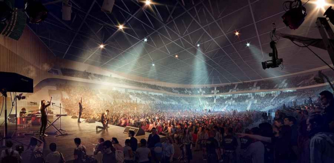 Стадион Royal Arena © 3XN