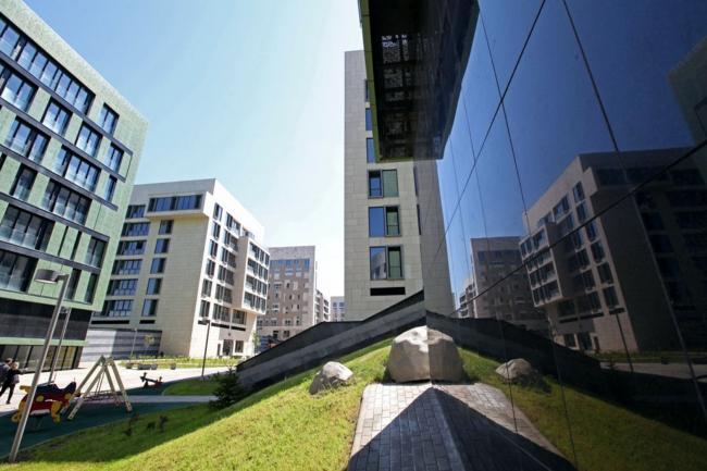Клубный квартал «Грюнвальд». Постройка, 2011 © SPEECH, АБ «Остоженка», Проект Меганом