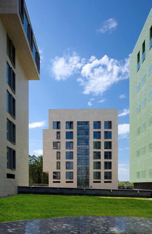 Клубный квартал «Грюнвальд». Дом «Сектор». Постройка, 2011 © SPEECH, АБ «Остоженка», Проект Меганом