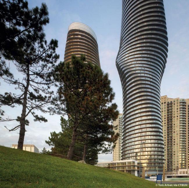 Жилой комплекс Absolute World Towers © Tom Arban