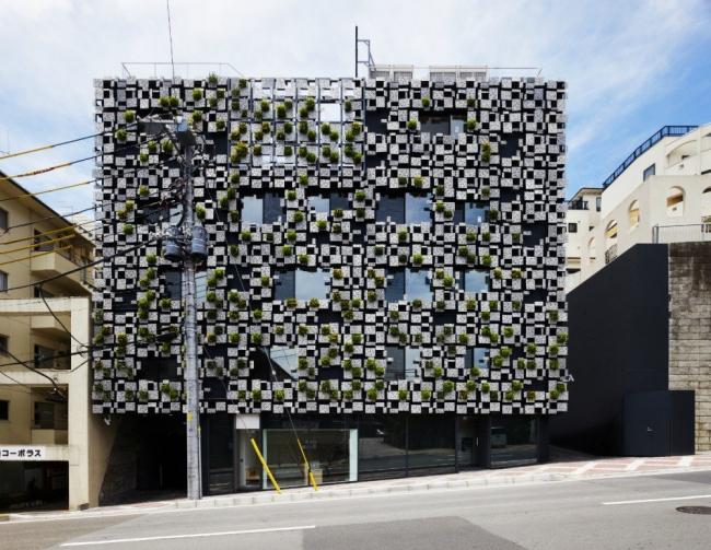 Здание Green Cast © Kengo Kuma & Associates