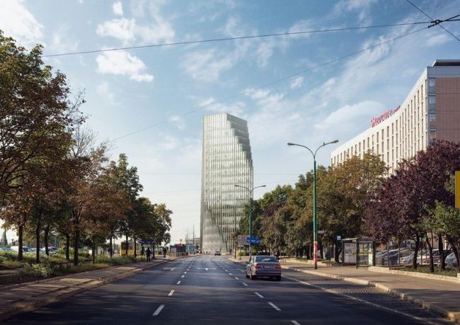 Башня Baltyk © MVRDV