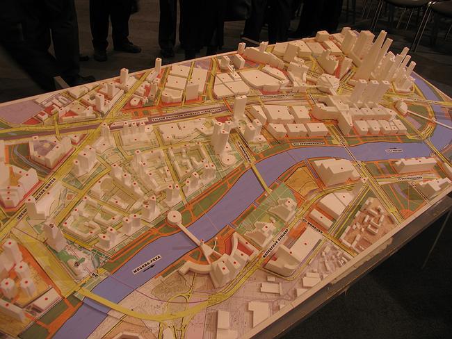 Проект многофункционального торгово-административного комплекса с апартотелем