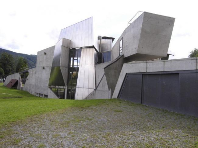 Собственный дом Штайнхаус в Каринтии. Фото с сайта baunetz.de