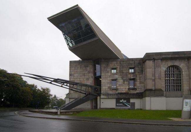 Информационный центр Зоны съезда нацистской партии в Нюрнберге. Фото с сайта baunetz.de
