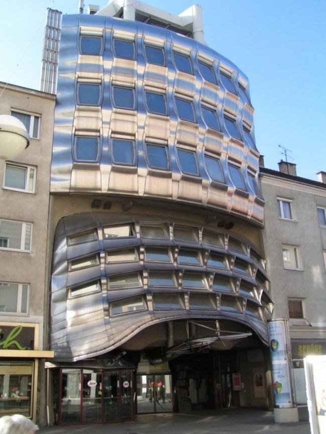 Центральная сберкасса на Фаворитенштрассе в Вене. Фото с сайта baunetz.de