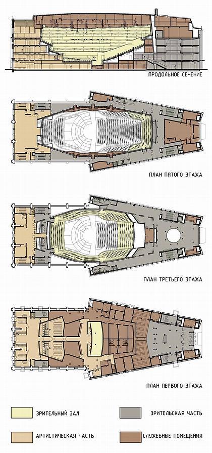 Мариинка-3. Поэтажные планы.