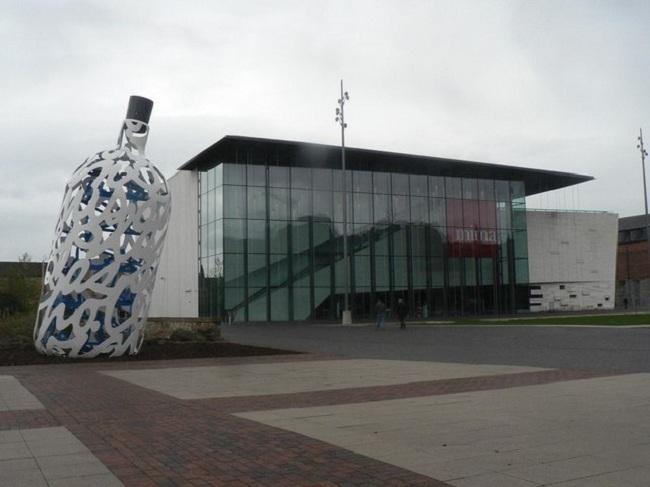 Институт современного искусства Мидлсбро (MIMA). Главный фасад. Фото: Chris Downer via Geograph. Лицензия CC BY-SA 2.0