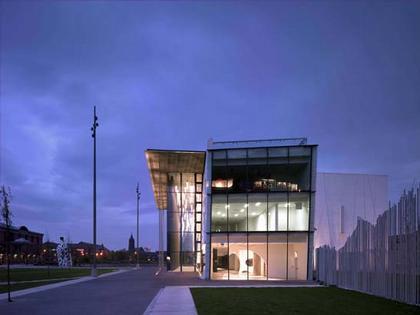 Институт современного искусства Мидлсбро (MIMA). Боковой фасад