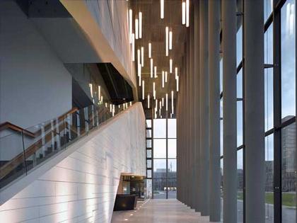 Институт современного искусства Мидлсбро (MIMA). Вестибюль