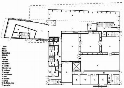 Институт современного искусства Мидлсбро (MIMA). План