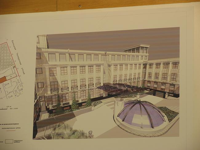 Проект гостиницы в Климентовском пер.