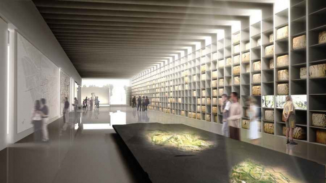 Римский музей в Нарбонне © Foster + Partners