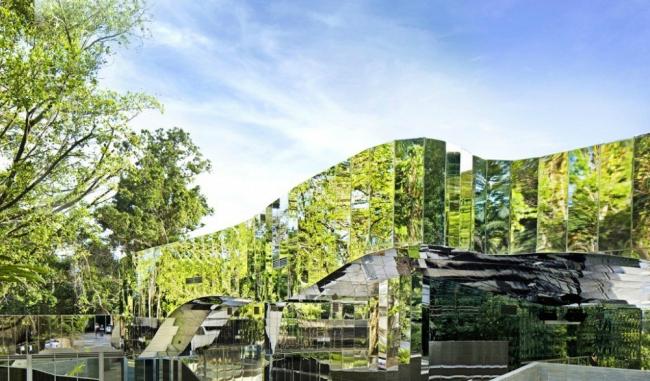 Посетительский центр ботанического сада Кэрнса © Patrick Bingham Hall