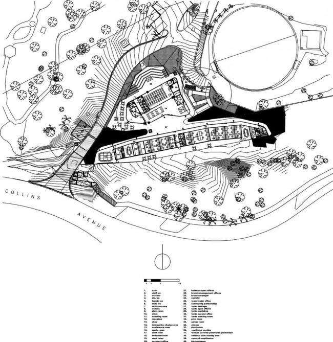Посетительский центр ботанического сада Кэрнса © Charles Wright Architects