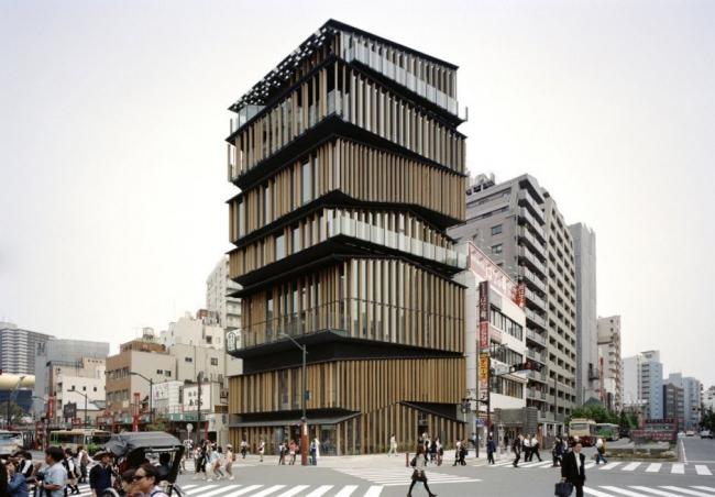 Культурный и информационный центр района Асакуса © Takeshi Yamagishi