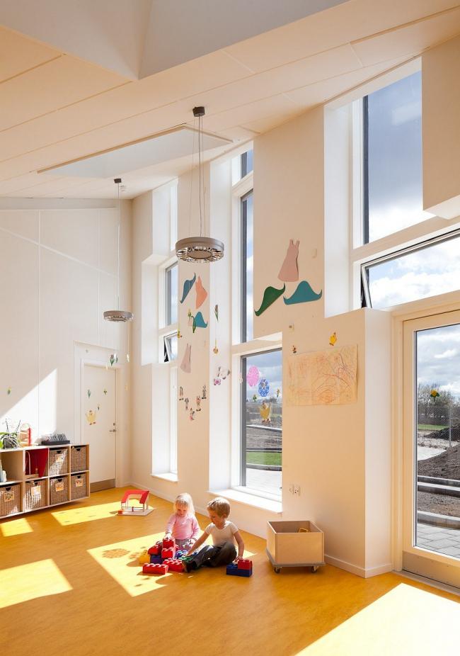 Детский сад Solhuset © Adam Moerk. Фото предоставлено Christensen & Co. Arkitekter