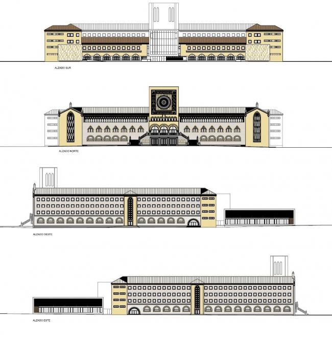 Администрация Сарагосы в здании бывшей семинарии © ACXT