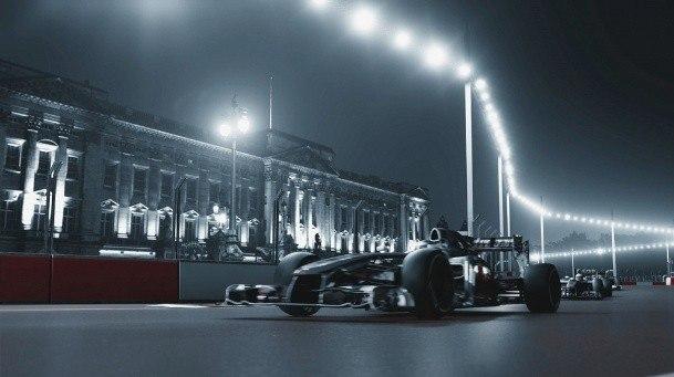 Трасса Формулы-1 для Лондона © Populous