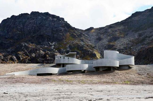 Selvika - место отдыха на шоссе © Reiulf Ramstad Architects