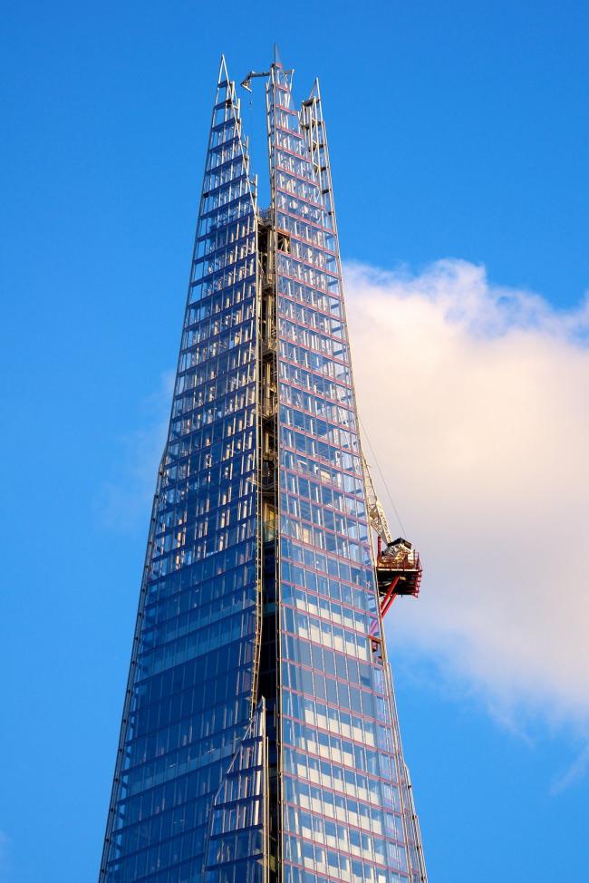 Башня The Shard. Фото: Paul Hudson via flickr.com. Лицензия CC BY 2.0