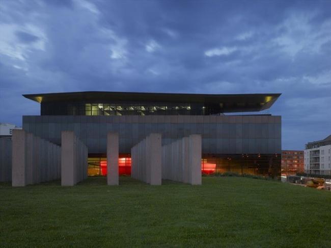 Здание FRAC Бретань © ODBC