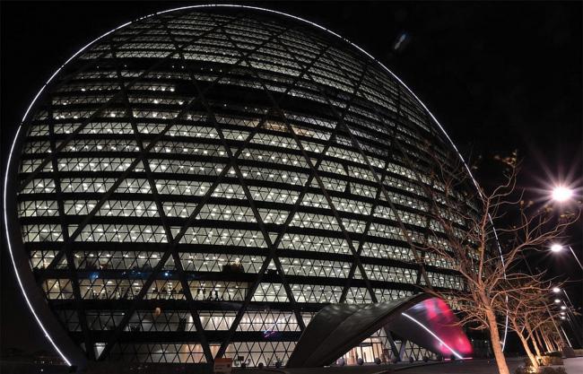 Инновационные решения KONE нашли активное применение при проектировании и строительстве ALDAR Properties Headquarters (Абу-Даби, ОАЭ)