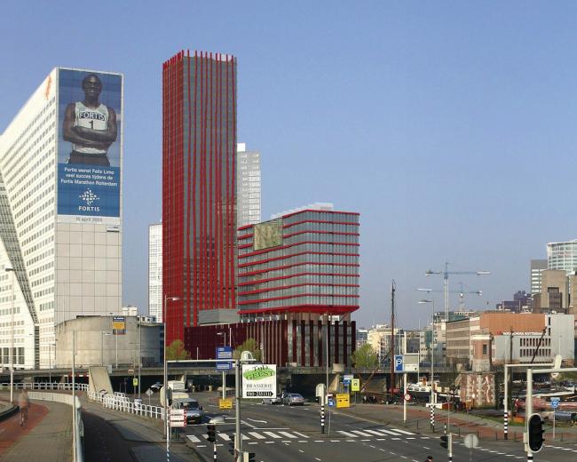Инновационные решения KONE нашли активное применение при проектировании и строительстве Red Apple (Роттердам, Нидерланды)