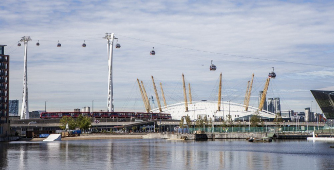 Канатная дорога Emirates Air Line © Wilkinson Eyre Architects