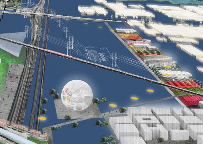 Флориада-2022. Проект для региона Боскоп © OMA
