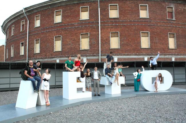 Участники ′Arch-Meeting′ в «Новой Голландии». Фотографии предоставлены Олегом Мановым