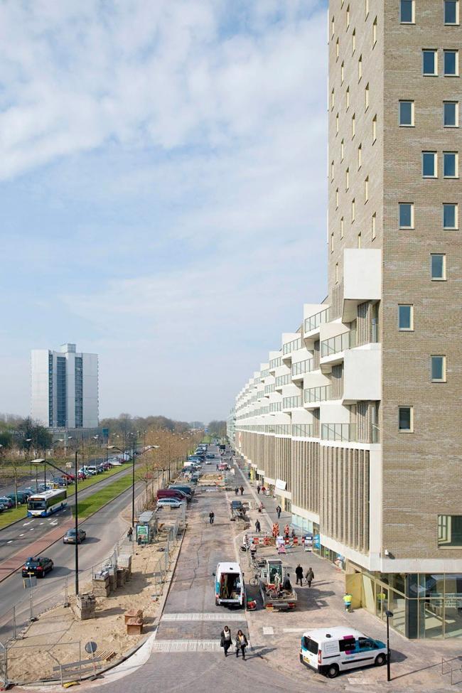 Жилой комплекс De Kameleon © Marcel van der Burg