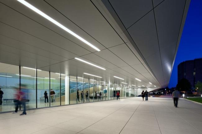 Центр искусств Вульфа Университета Боулинг-Грин © Bruce Damonte