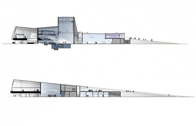 Центр искусств Вульфа Университета Боулинг-Грин © Snøhetta