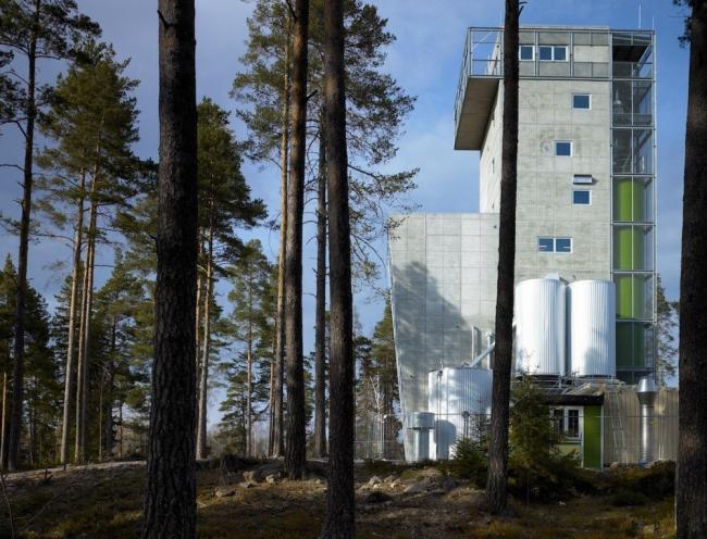 Завод Mackmyra Svensk Whisky © Robin Hayes