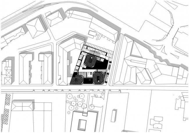 Жилой комплекс в городе Сет ©  CFA – Colboc Franzen & associés