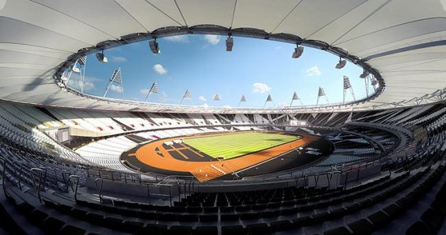 Олимпийский стадион 2012 © Populous