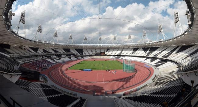 Олимпийский стадион 2012 © LOCOG