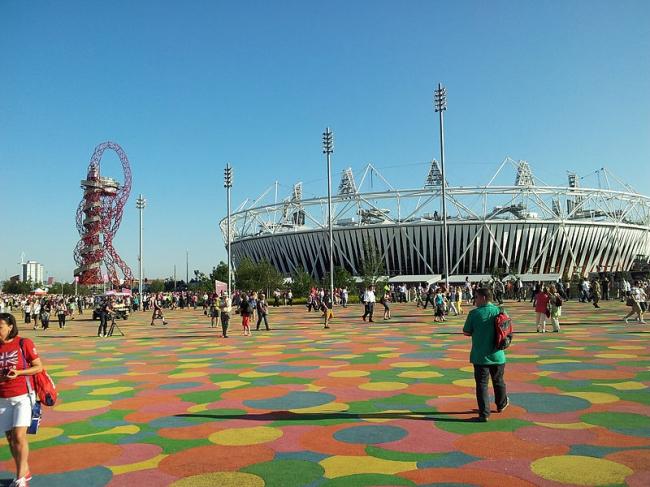 Олимпийский стадион 2012. Фото: Adam Care via Wikimedia Commons. Лицензия CC-BY-2.0