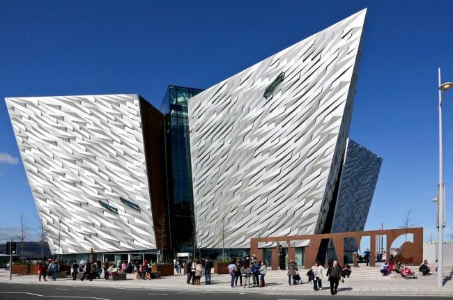 Музей «Титаника» в Белфасте бюро Todd Architects. Фото с сайта worldarchitecturenews.com