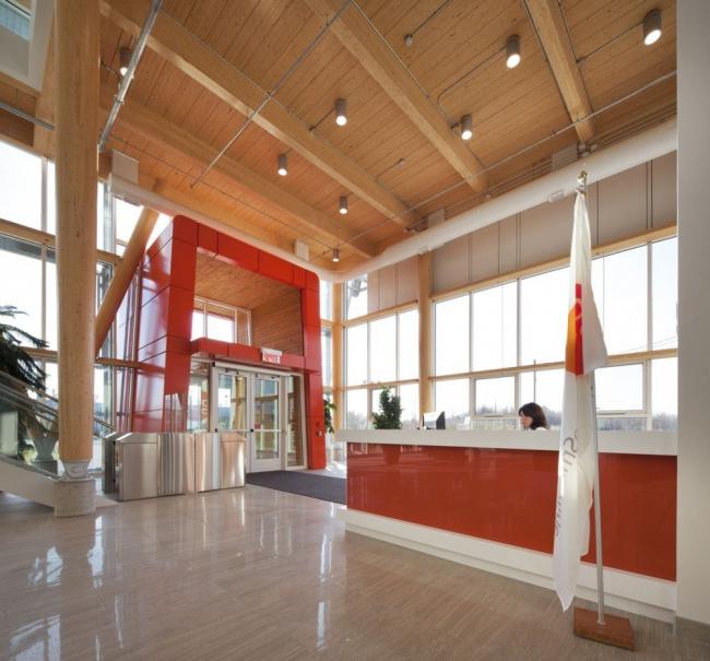 Штаб-квартира канадского филиала компании GlaxoSmithKline © Stéphane Groleau