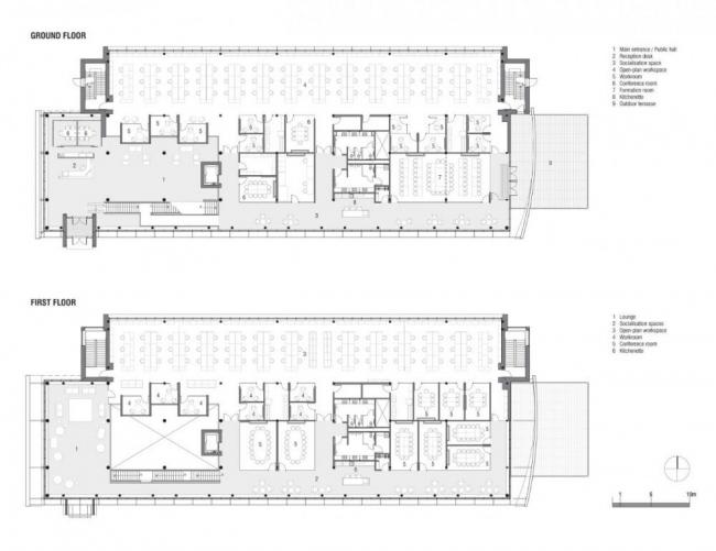 Штаб-квартира канадского филиала компании GlaxoSmithKline © Coarchitecture