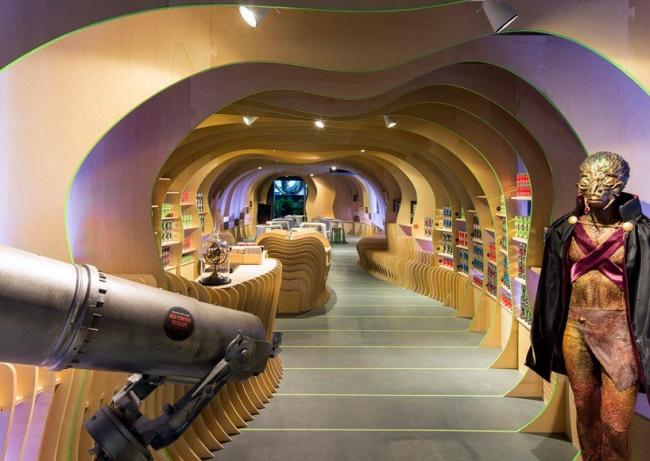 Детский литературный центр «Марсианское посольство» © Brett Boardman