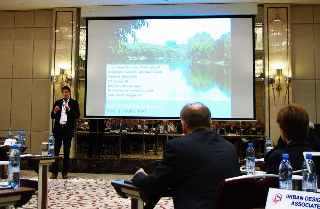 Urban Design Associates с идеей управления водной системой Москвы.