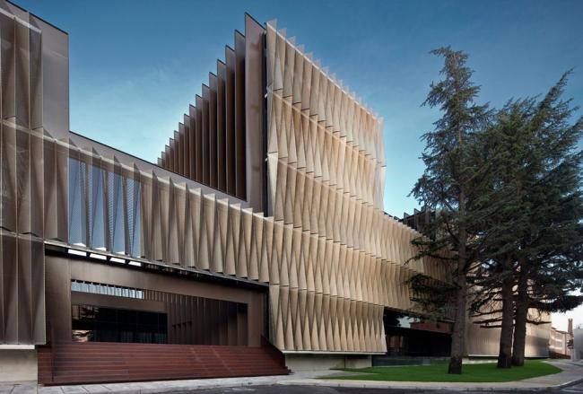 Центр биомедицинских исследований госпиталя Наварры © José Manuel Cutillas