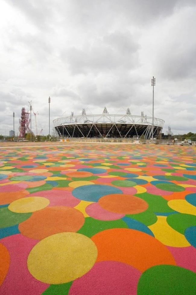 Центральный мост Олимпийского парка © London2012