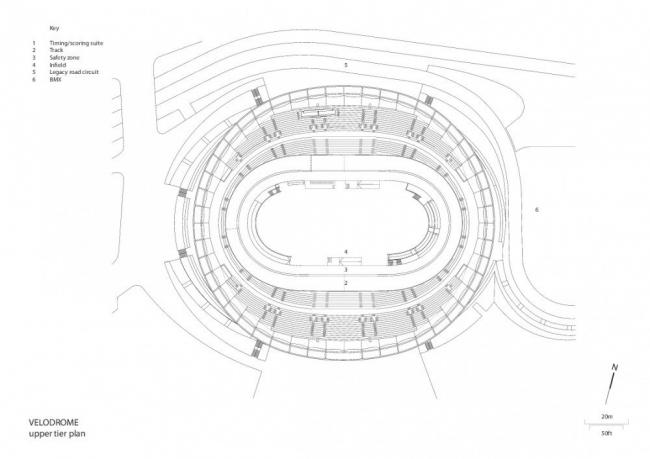Олимпийский велодром © Hopkins Architects