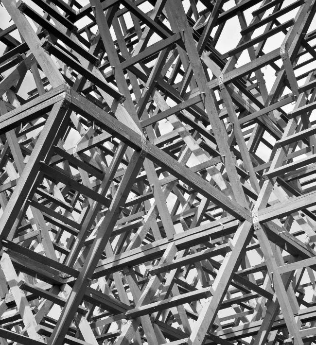 «Штурм неба». Фрагмент конструкций башни. Фото А.Леонтьева.